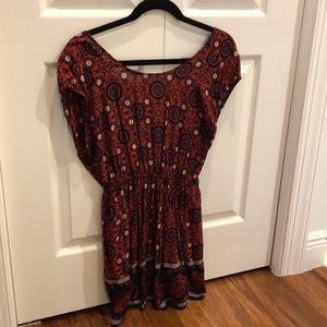 Beautifully Printed Mini Dress